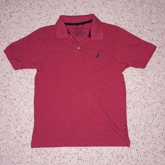 Nautica Other - Boys Red Nautica Polo, Size 10-12